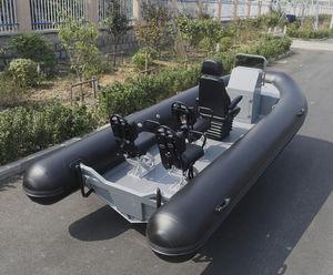 船外機インフレータブルボート / ディーゼル式 / 半硬質 / セントラル コンソール