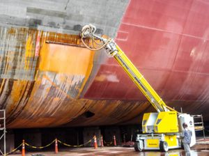造船所用高圧クリーナー