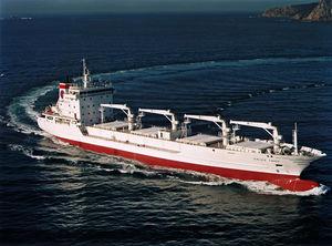 リーファー貨物船