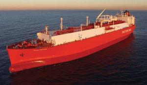液化天然ガス輸送船貨物船