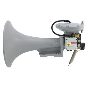 電気ピストン汽笛信号