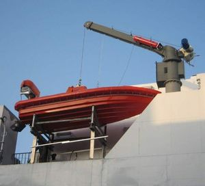 船用ダビット / 救命ボート用 / 油圧
