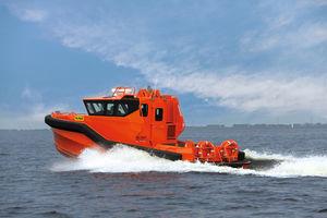 船用救助ボート / ハイドロジェット / 船内 / アルミ製