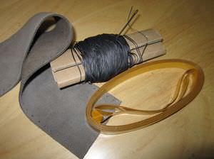 革製ステアリングホイール用カバー