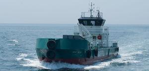 氷上用汚染防止船