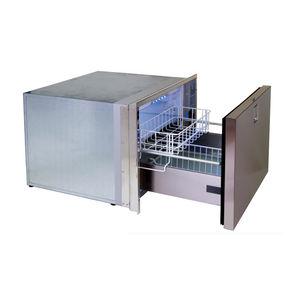ボート用冷凍庫 / はめ込み式 / ステンレス製 / 引き出し