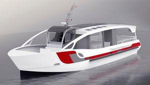 遊覧船業務用ボート / 船内 / ディーゼル式 / アルミ製