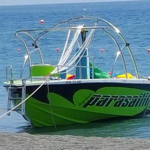 船内機パラセールボート
