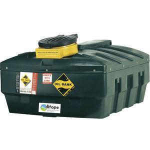 使用済油タンク / 一時貯蔵用 / 造船所用 / 携帯式