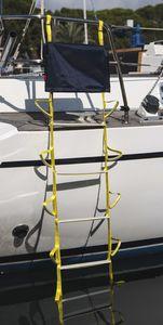 ボート用はしご / 折畳み / 調整可能 / 水泳