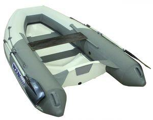 船外機インフレータブルボート / 半硬質 / 折り畳み式 / グラスファイバー