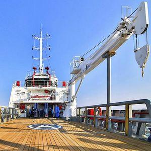 ブームクレーン / 船用 / 浮きドック / ヨット用