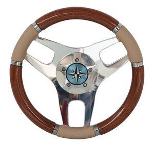 木製ステアリングハンドル / 皮革製 / レース / クラシック