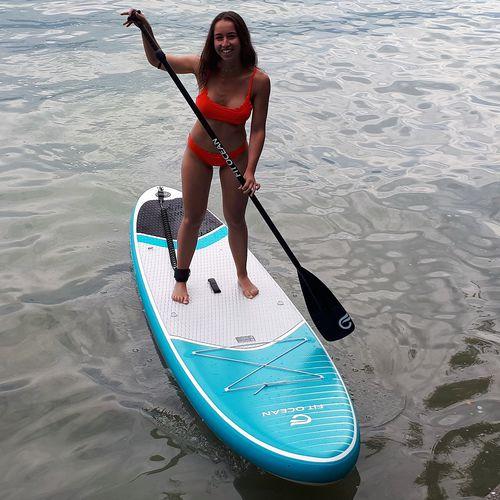 膨張式立ち型パドルボード / 全周 / 静水用 / サーフィン