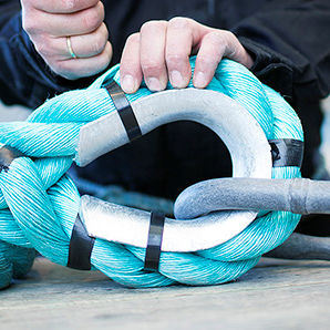 ロープ用シンブル