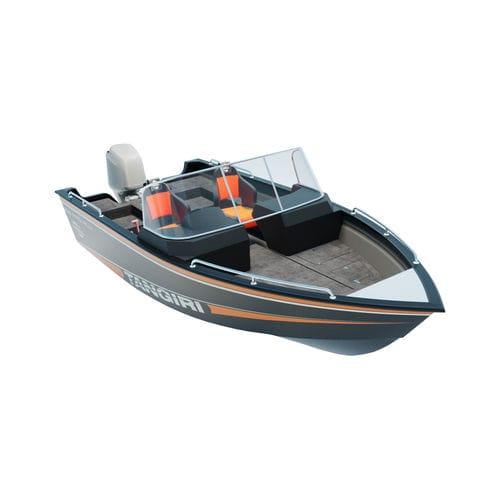 船外ランナバウトボート / デュアルコンソール / スポーツ釣り / アルミ製