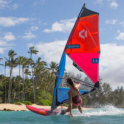 波用ウインドサーフィンの帆 / フリースタイル / 3バテン