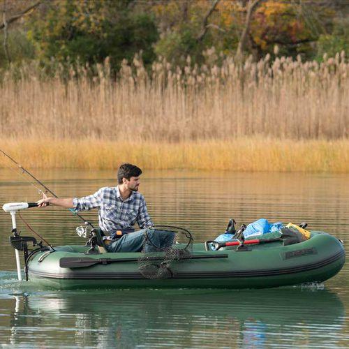 船外インフレータブルボート / 半硬式 / 釣り用 / 2人