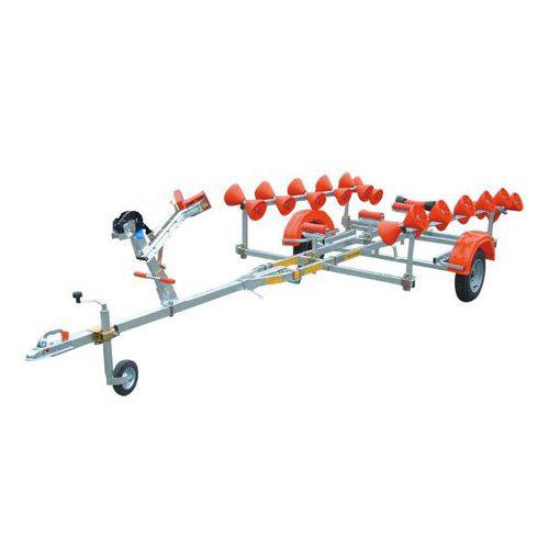 ルートトレーラー / ボート用 / スラストパッド式 / ローラー