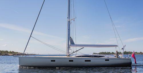 クルージング帆船 / オープントランサム / カーボン製 / ツインステアリングホイール