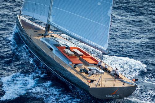 クルージング競技豪華帆船 / ブリッジサロン / リフティングキール / スループ型