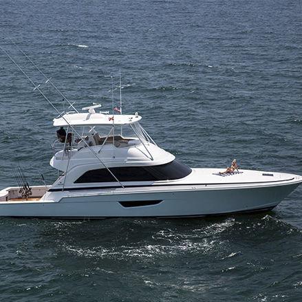 クルージングモーターヨット / スポーツ釣り / フライブリッジ / 移動用船艇
