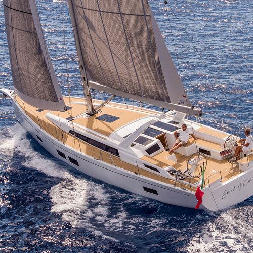海洋クルージング帆船 / オープントランサム / 寝台6つ / ツインステアリングホイール