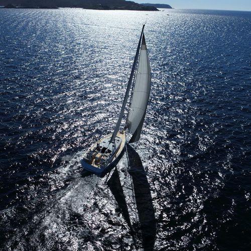 クルージング帆船 / オープントランサム / キャビン3つ / バウスプリット