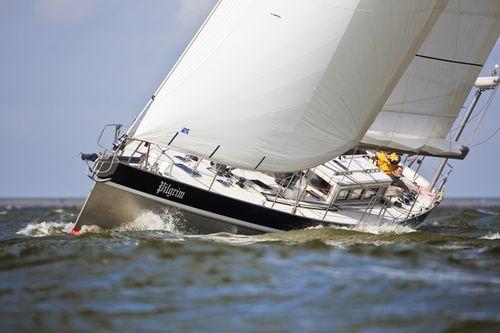 クルージング帆船 / オープントランサム / アルミ製 / キャビン2つ