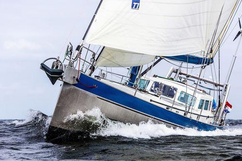 クルージング帆船 / オープントランサム / アルミ製 / リフティングキール
