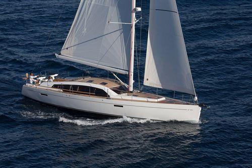 クルージング帆船 / ブリッジサロン / キャビン3つまたは4つ / バウスプリット