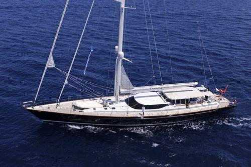 クルージング豪華帆船 / オープントランサム / アルミ製 / キャビン3つ