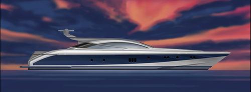 スポーツスーパーヨット / ハードトップ / 移動用船艇