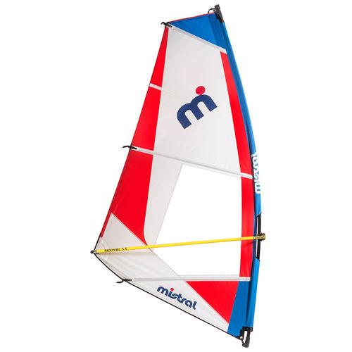 全周ウインドサーフィンの帆 / 3バテン / 1バテン