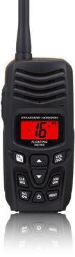 海用ラジオ / 持ち運び式 / VHF / 浸水性