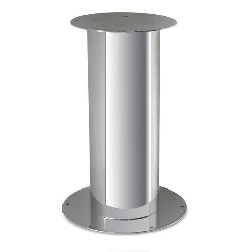 ステンレススチール製テーブル用柱脚
