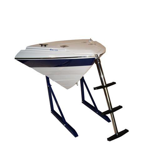 ボート用はしご / 伸縮 / 格納式 / 水泳