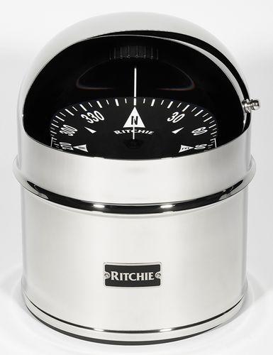 ボート用ルートコンパス / 磁気 / 横型 / 缶型容器上