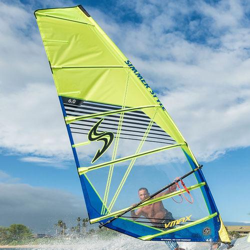 フリーレースウインドサーフィンの帆 / 6バテン
