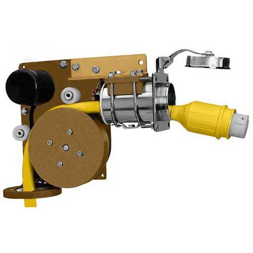 固定ケーブルリール / モーター式 / ボート用 / ヨット用