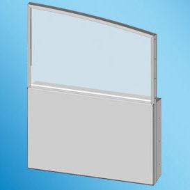 ヨット用窓 / ボート用 / スライド式 / 長方形
