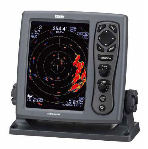 船用レーダー / ATA / カラー / AIS付き