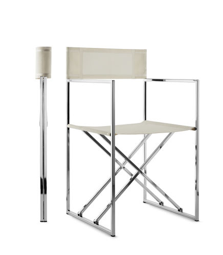 ボート用折りたたみ椅子 / 折畳み / ステンレススチール製