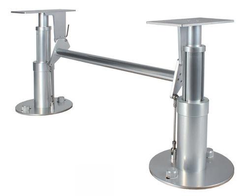 調節可能テーブル用柱脚 / 空気 / ステンレススチール製