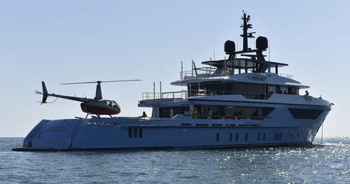 クルージングメガヨット / 探検 / トロール船 / 高部操舵室