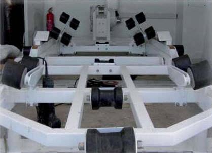 ランチングトロリー / モーターボート用