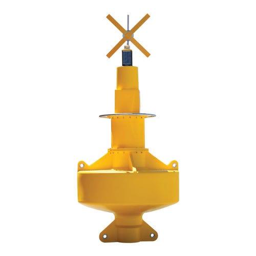水路標識用ブイ / 公海 / 警告灯付 / ポリエチレン製