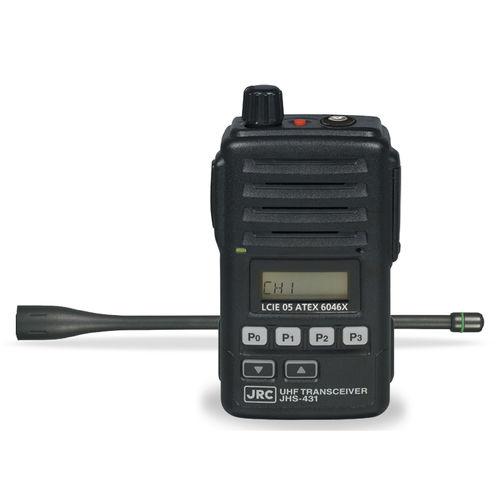 船用ラジオ / 持ち運び式 / UHF用 / IP67