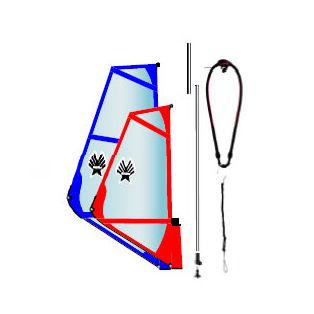 ウィンドサーフィン用完全リグパック
