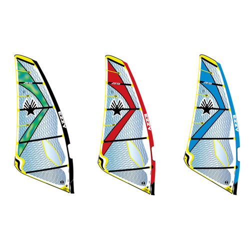 波用ウインドサーフィンの帆